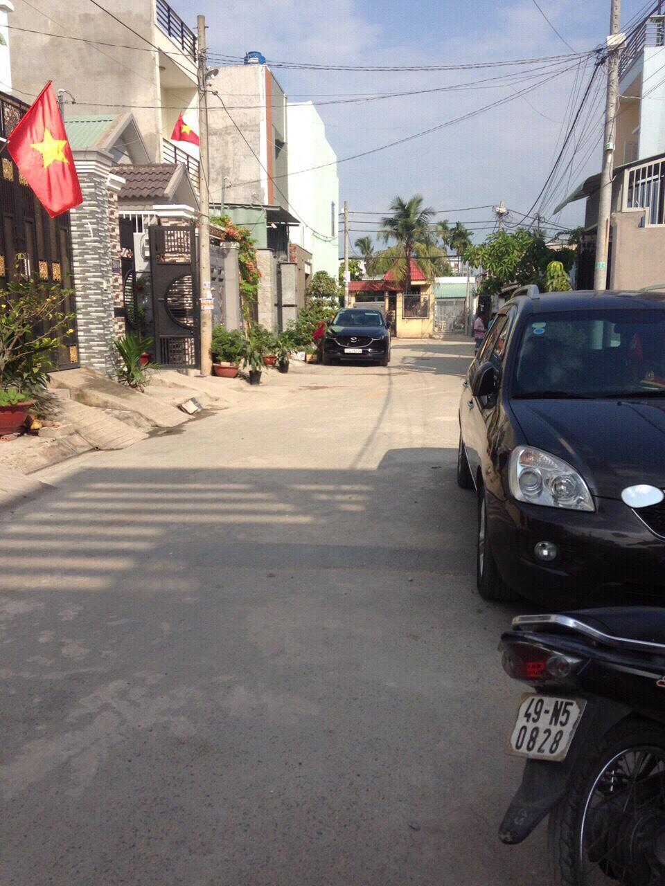 Bán đất Đường Tô Ngọc Vân. DT:( 4.5 x 14)m2.